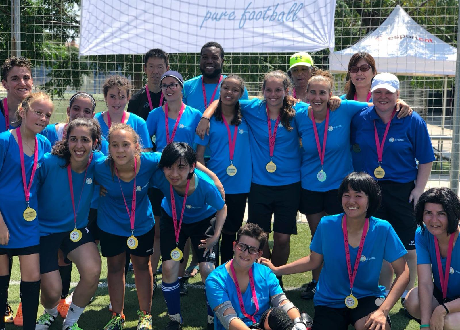 IFCPF & KNVB Regional Female CP Football Camp 2019